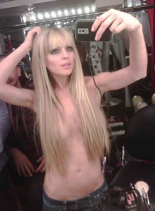 Lindsay Lohan privát képek, CelebVilág villantásai 1