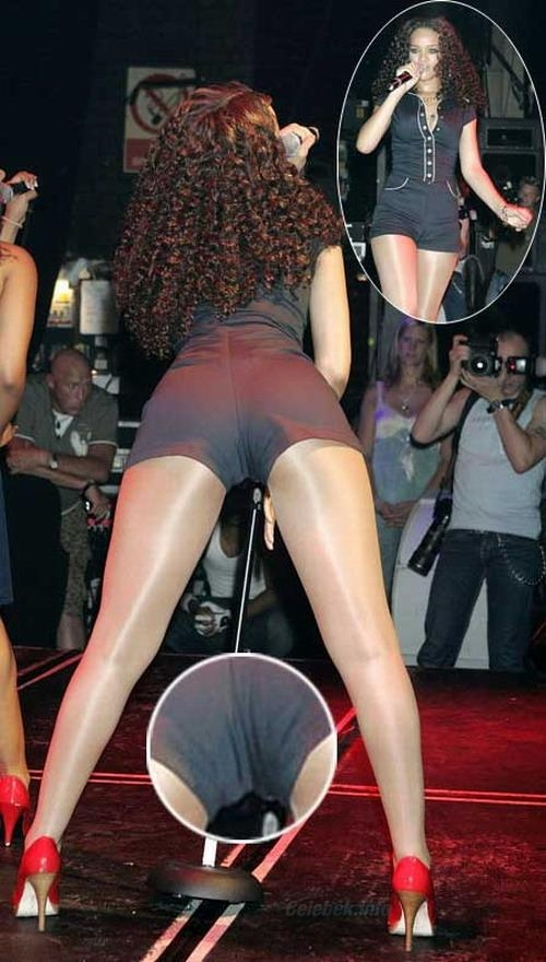 Rihanna popsi, cameltoe