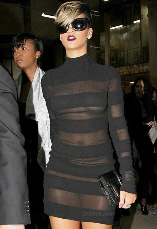 Rihanna see-through dress pictures -1- celeb-kepek.info
