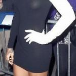 Rihanna nipple See Through Dress -1- celeb-kepek.info