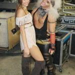 Miley Cyrus halloween pocahontas -3-