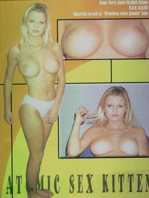 Kerry Katona nude pussy -4-