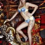 Peaches Geldof lingerie and tatoos -1-