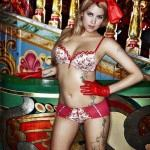Peaches Geldof lingerie and tatoos -3-