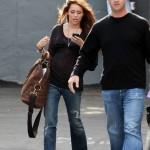 Miley Cyrus átlátszó felsőben -3-