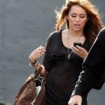 Miley Cyrus átlátszó felsőben -4-