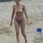 Blanca Romero topless paparazzi képek -4-