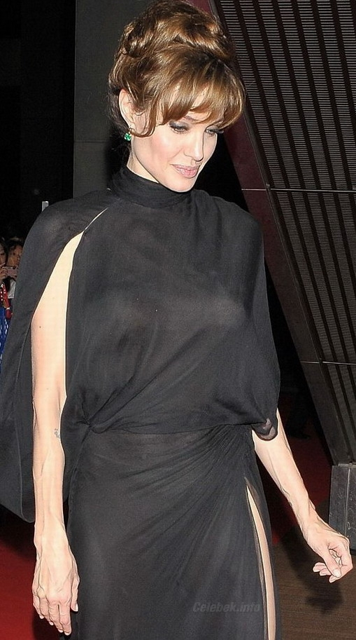Angelina Jolie see through