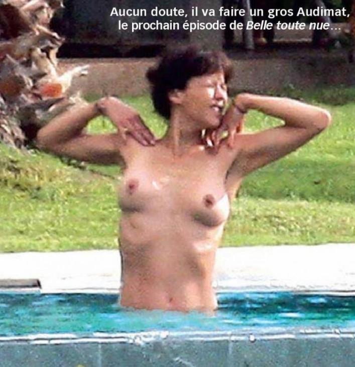 Sophie Marceau mellei